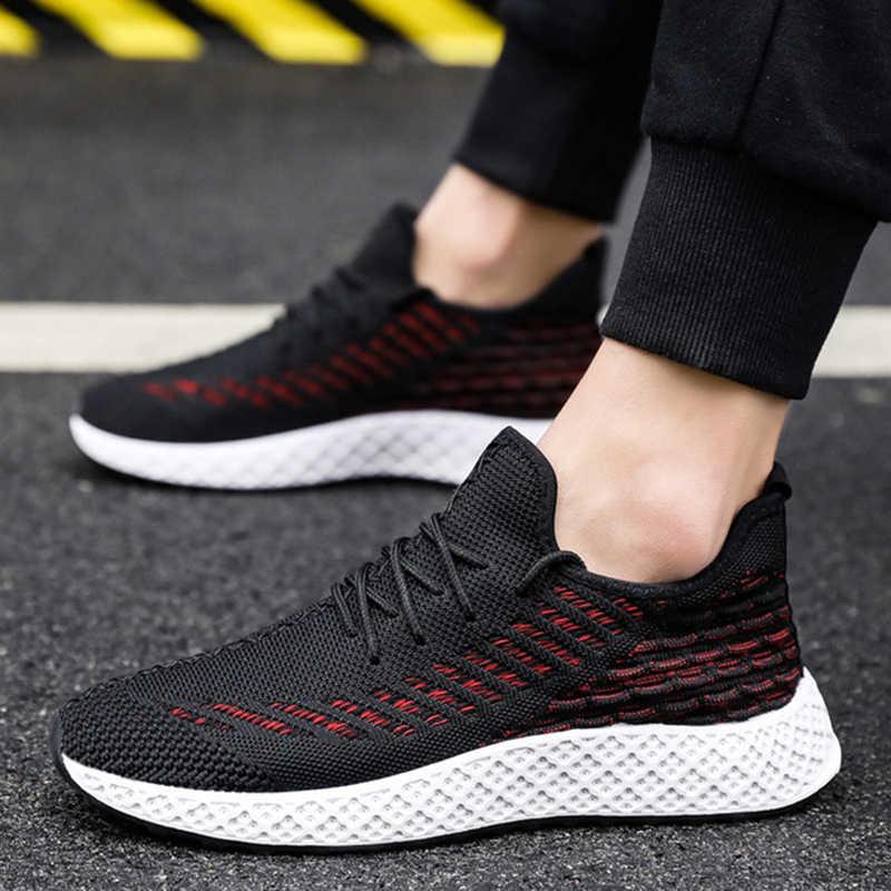 PUIMENTIUA Casual 2019 Men Shoes Summer Sport Sneakers Casual Shoes Men Comfortable Zapatillas Hombre Deportiva Running Hombre