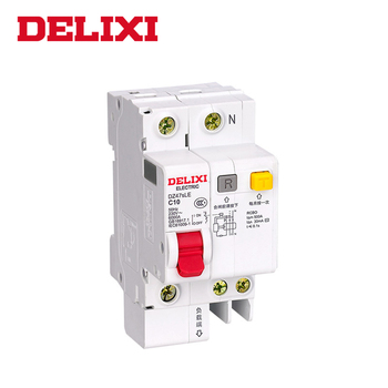DELIXI RCBO DZ47sLE 1Pole+N C type 10A to 63A Residual current Circuit breaker with over current and Leakage protection RCBO