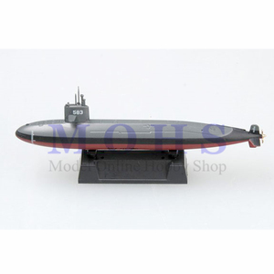 EASY MODEL scale finished model 37324 1/700 scale submarine assembled model finished scale japanese submarine JMSDF SS Harushio