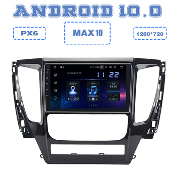 PX6 10.2 Android 10.0 Car GPS Radio Player for mitsubishi pajero sport 2016 2017 2018 2019 with DSP HDMI 4+64GB Stereo carplay image