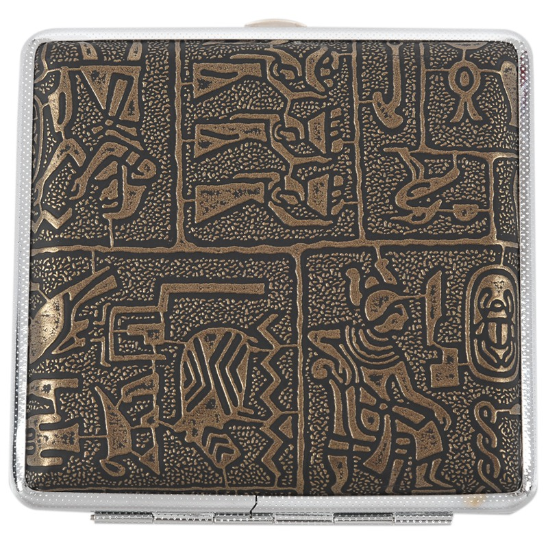 Egyptian Style Ultra-thin Cigarette Case