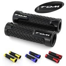 For YAMAHA TDM 900 850 Motorcycle Handlebar Handle Grip CNC Aluminum None-Slip Rubber