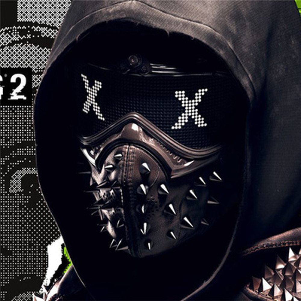 Watch Dogs Mask Watchdog 2 Wrench Mask Cosplay Masks And Props Around Cosplay