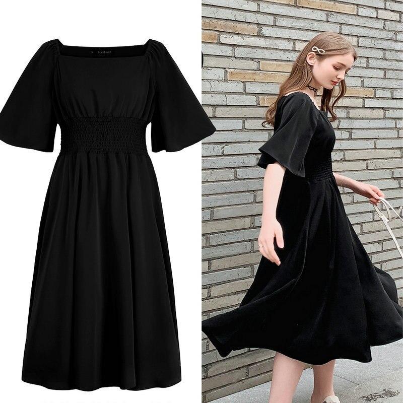 NEDEINS модное женское летнее платье размера плюс, женские вечерние короткие платья, женское элегантное красное платье, летнее платье 2020