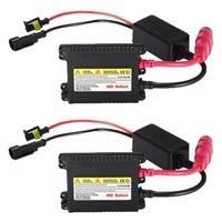 2Pcs 35W Slim HID Ballast for H1 H3 H4 H7 H10 H11 H13 9004 9005 9006 9007 880 5202 HB3 HB4 HB5|  -