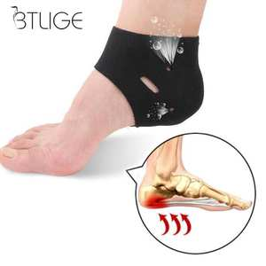 Insole Heel-Protector Fasciitis-Therapy 1-Pairs Corrective-Sock-Cover Plantar Orthotic