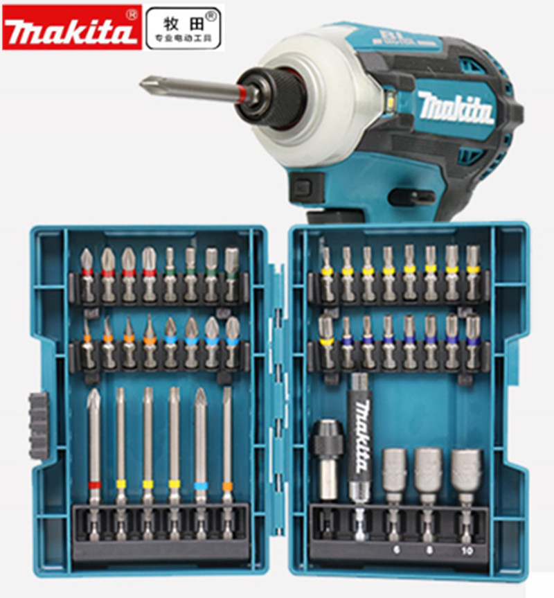 MAKITA  B-55697 BITS BIT AND DICE GAME FOR DRIVER  43 pieces  Head Cross Flower Type Head Hexagon Socket Tool Parts