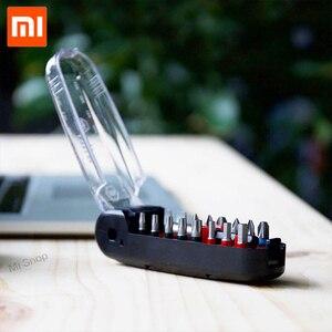 Image 4 - Xiaomi メーカー 17 1 レンチドライバービットキット磁気ワニ口の形でミニポータブルポケットドライバーセット修復ツール