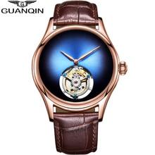 Guanqin Tourbillon Men Watches 2019 luxury mechanical