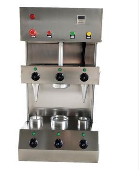Gran oferta 2020 máquina de pizza de acero inoxidable máquina de hacer conos de pizza máquina de hacer pizza comercial