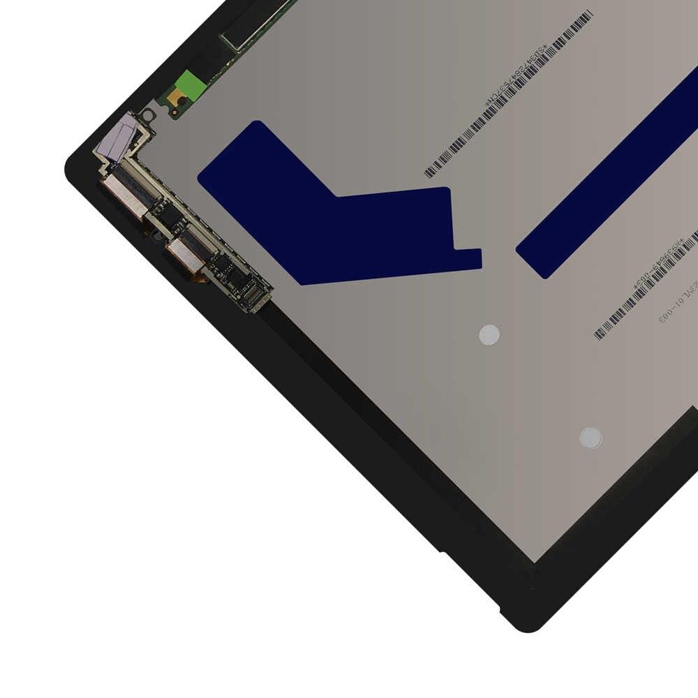 12.3 ''ل مايكروسوفت السطح برو 4 1724 شاشة الكريستال السائل مجموعة المحولات الرقمية لشاشة تعمل بلمس استبدال