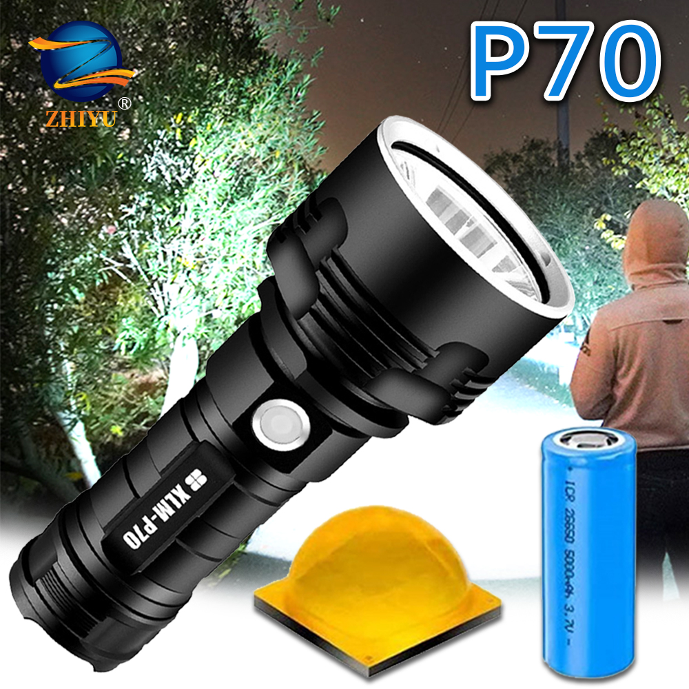 Permalink to ZHIYU Super Powerful LED Flashlight L2 P70 Tactical Torch USB Rechargeable Linterna Waterproof Lamp Ultra Bright Lantern Camping