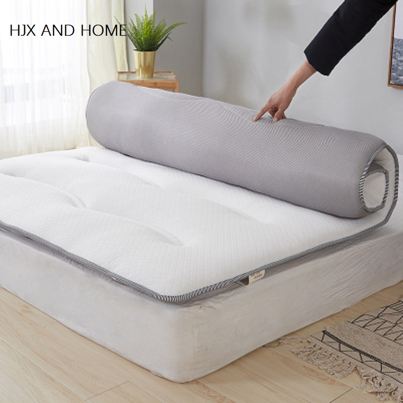 Solated Cold 100% Cotton Fabric Thick And BreathableI  Mattress Japanese Tatami Single And Double Hotel Mattress