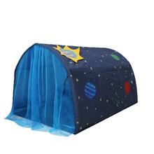 Łóżko dla dzieci namiot zabawkowy domek składany Kid Dream zadaszenia moskitiera kryty J99Store tanie tanio Bi-rozstanie Uniwersalny circular Domu 362015486 Mongolski jurta moskitiera Składane 100 poliester