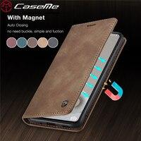 Custodia in pelle Flip per Samsung Galaxy S20 FE S21 Ultra S10 S9 S8 Plus custodia a portafoglio magnetica S7 Edge per Samsung Note 20 10 Coque