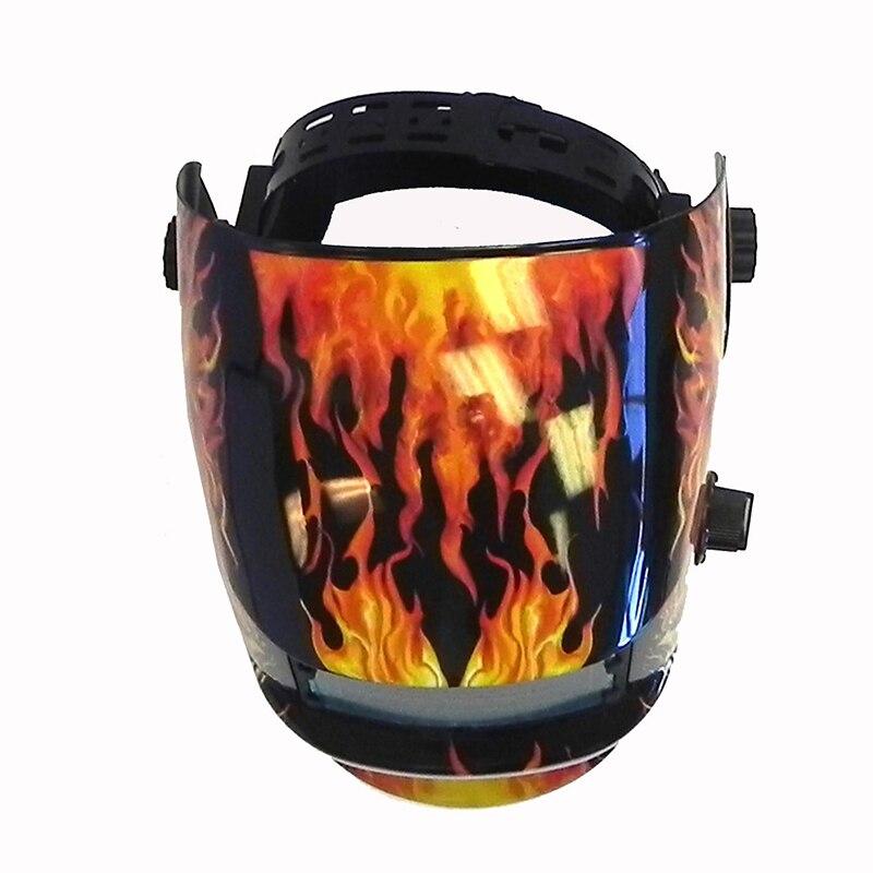 Solar Cars Darkening Welding Helmet Mask Grinding CE Ansi Certified Skull Useful