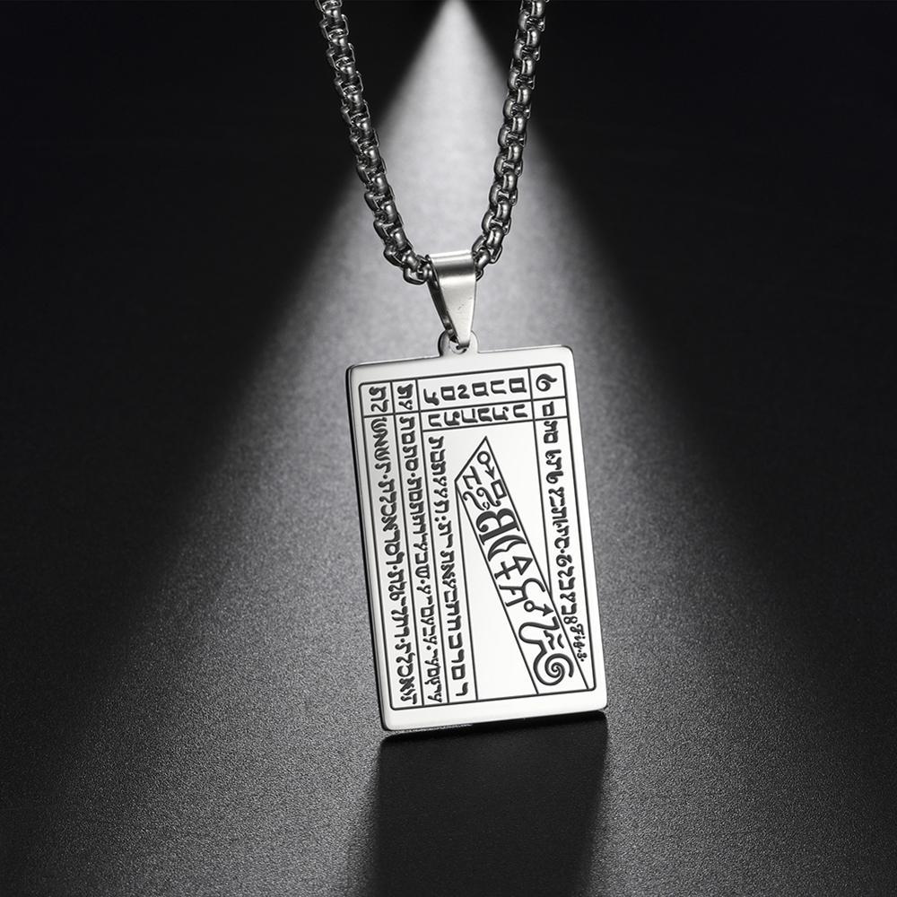 Unift selo o mistério do segundo livro de moisés talismã de tomar dinheiro e mais alto selo da fortuna amuleto riqueza colar