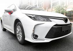 Dla Toyota Corolla E210 salony kosmetyczne 2019 2020 ABS z tworzywa sztucznego lampa światła przeciwmgielne z przodu dekoracji taśmy wykończenia pokrywy samochodu stylizacji