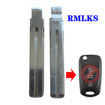 Type #13 Metal Blank Flip KD Remote Key Blade For Kia For Hyundai IX35 I30 For Toyota Crown For Lexus Uncut TOY40 TOY48 Blade image