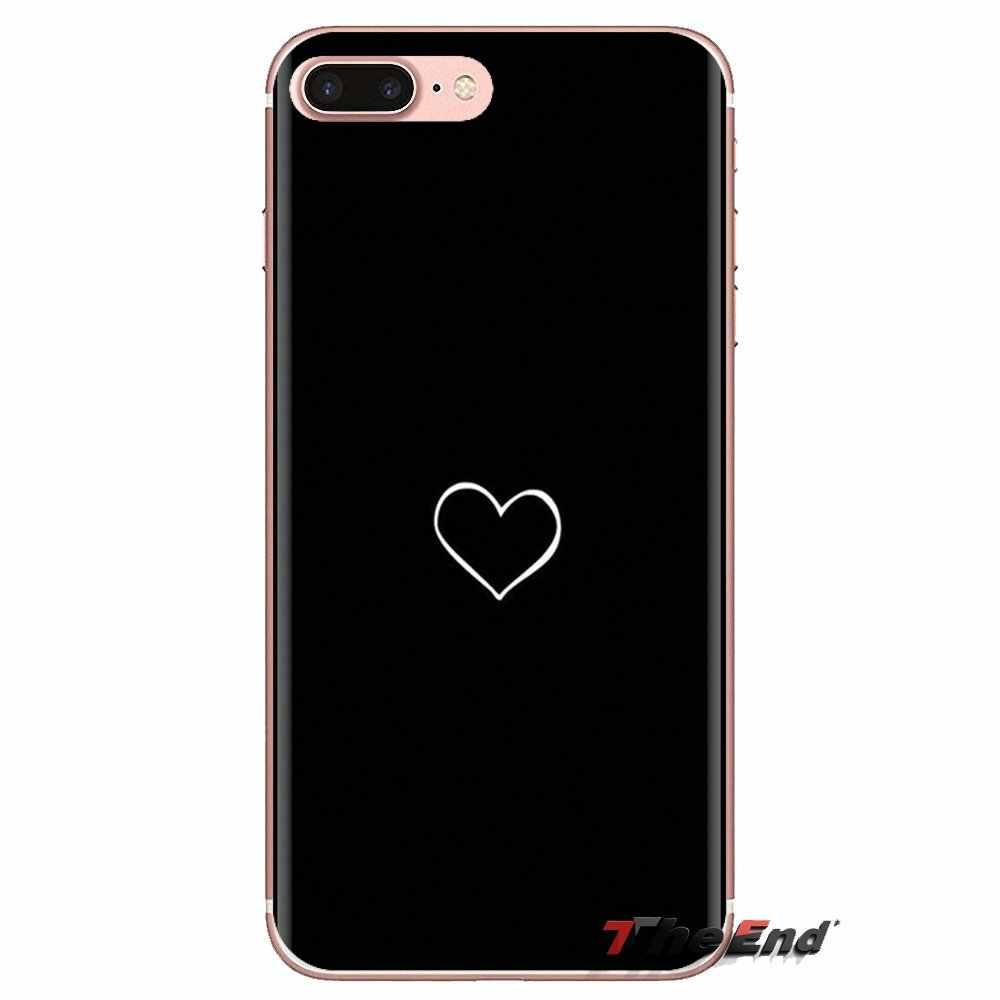 Transparante Zachte Gevallen Covers Hart Lover Luxe Voor LG Geest Motorola Moto X4 E4 E5 G5 G5S G6 Z Z2 z3 G2 G3 C Play Plus Mini