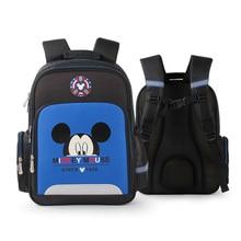 Disney Cartoons Waterproof Children School Bags for Boys Girls School Backpacks Mickey Minnie Kids Schoolbag mochila Infantil