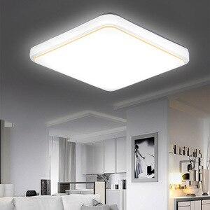 Square LED Ceiling Lamp AC220V White Color led ceiling light Kitchen Balcony Porch Modern Panel Light Fixture