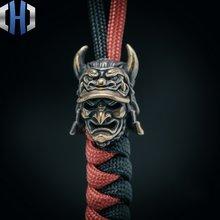 Оригинальный японский нож самурайского орла с бусинами шапка