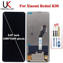 Original 6.67'' LCD For Xiaomi Redmi K30 Display Replacement M1912G7BE M1912G7BC Screen