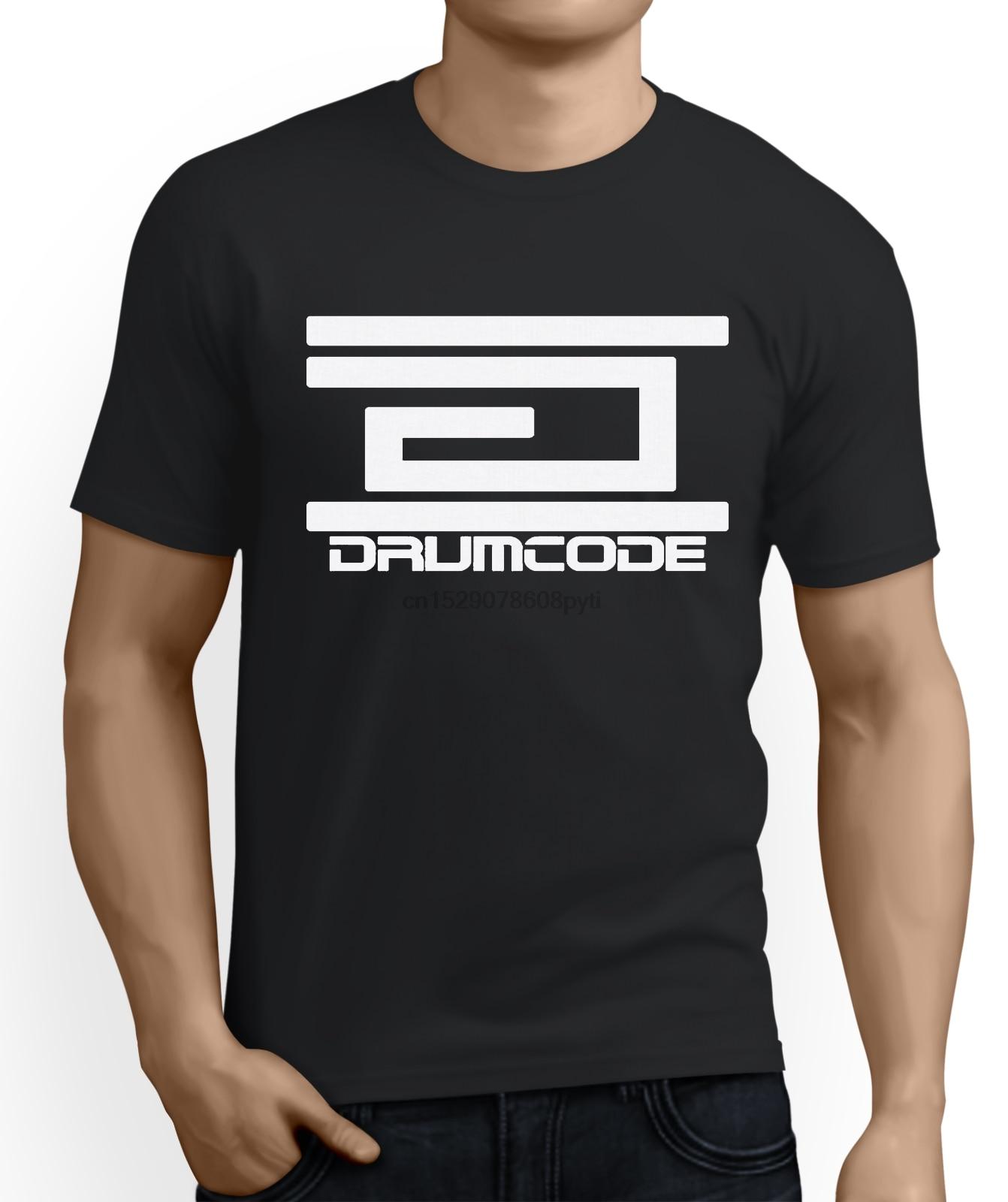 2019 T-shirt d'été Drumcode Dossiers Adam Beyer Suédois Techno Claquer Joey Beltram O Cou Chemise De Grande Taille T-shirt