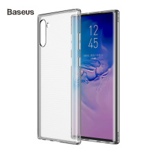 Baseus Clear Silicone Case For Samsung Galaxy Note 10 Note10 Plus Cover Shockproof Phone Transparent TPU Back