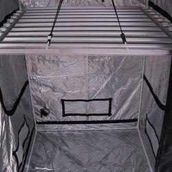 Rzeczywiste 8 sztuk 15W pełnozakresowe led T8 oświetlenie do uprawy kryty namiot do uprawy hydroponicznej zestawy  odblaskowe Mylar nietoksyczny szklarnie ogrodowe w Namioty do hodowli roślin od Dom i ogród na