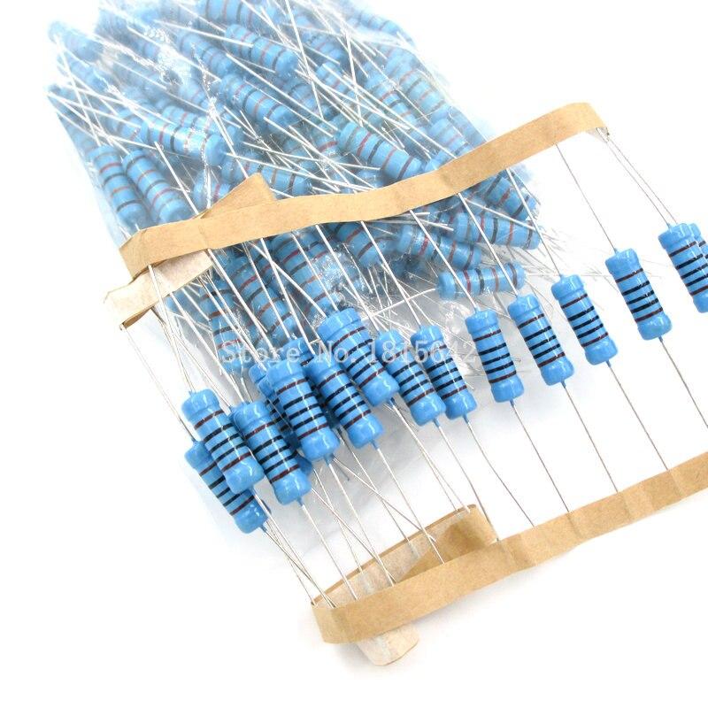 Металлический пленочный резистор 3 Вт 1% 1R ~ 1M 1R 4.7R 10R 22R 33R 47R 1K 4,7 K 10K 100K 1 4,7 10 22 33 47 4K7 сопротивление, 10 шт.