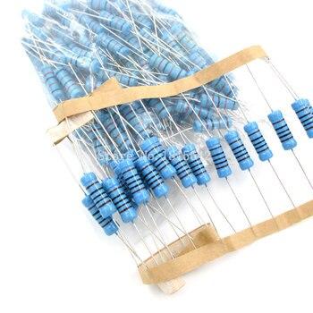 10PCS 3W Metal Film Resistor 1% 1R ~ 1M 4.7R 10R 22R 33R 47R 1K 4.7K 10K 100K 1 4.7 10 22 33 47 4K7 ohm resistance - sale item Passive Components