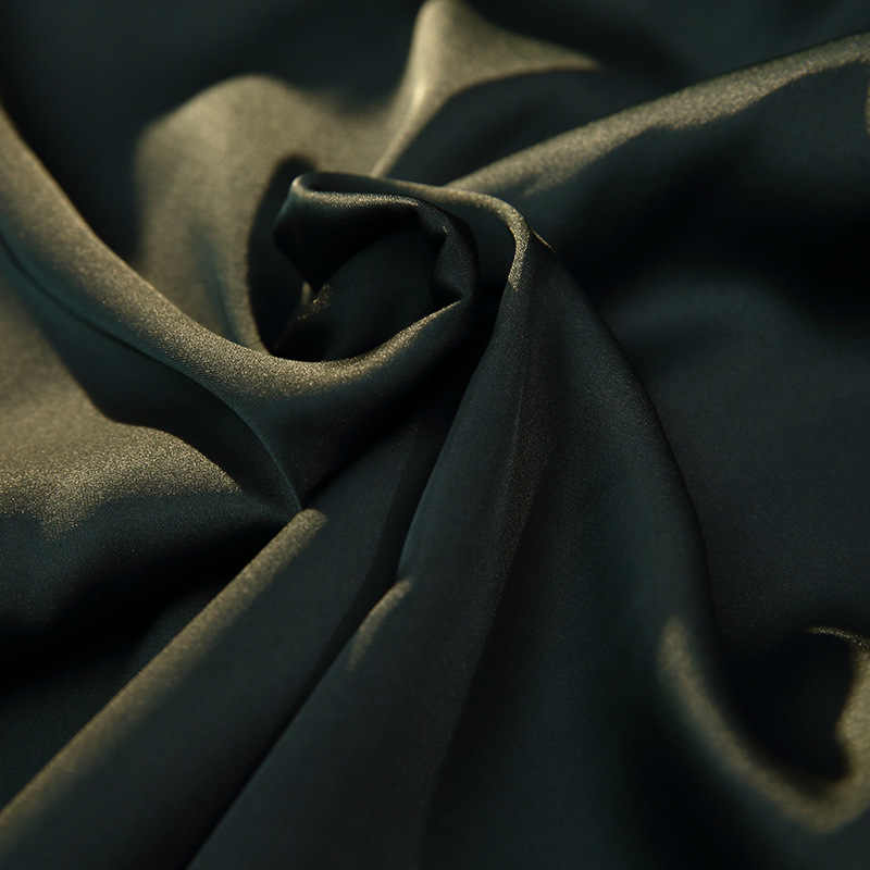 2020 خريف شتاء نساء ستان طقم بيجاما مثير بيجامة من الحرير ملابس خاصة ليلة الدعاوى لينة ملابس نوم المنزل مع منصات الصدر