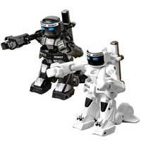 Creative Remote Control Battle Robot Children's Robot Model Two player Competitive Fight Parent child Confrontation RC Toys