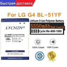 Оригинальная новая реальная фотобатарея 5550 мАч для lg g4 h815