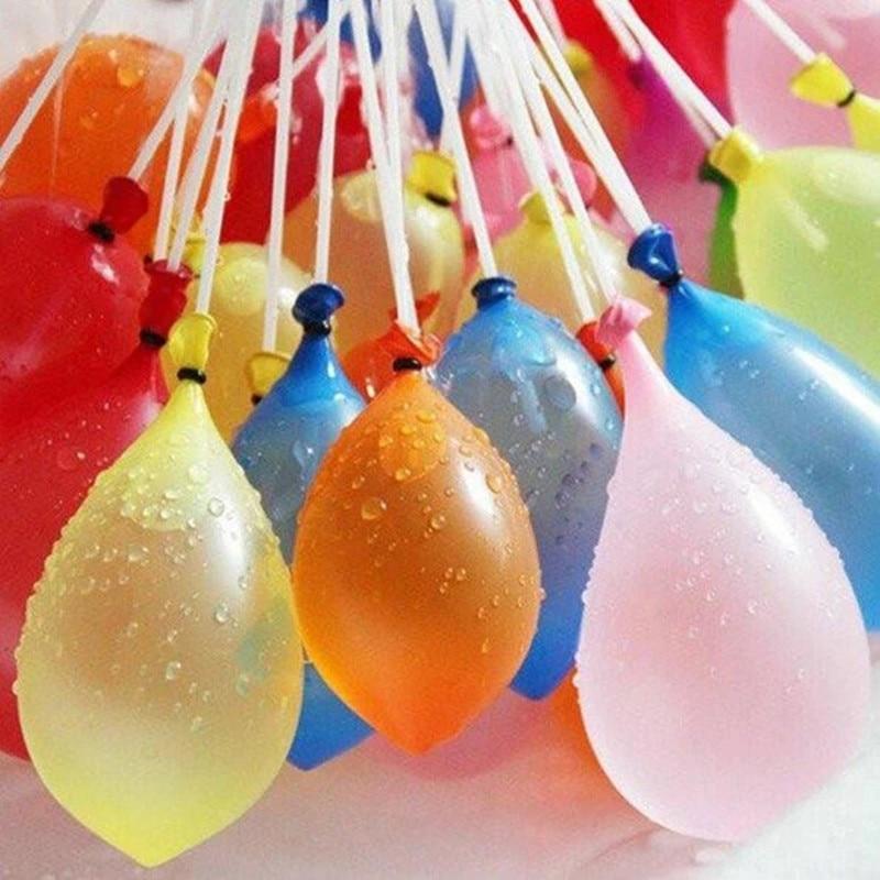 Водяные бомбочки шар удивительные дети воды войны для игры в дартс Для детей, на лето с плоской подошвой, уличные пляжные игрушки Вечерние