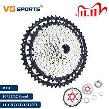 Pignon de Cassette de bicyclette 2019 10 11 12 vitesses ultraléger, séparé, pour vtt, 40T 42T 46T 50T VTT VG Sports