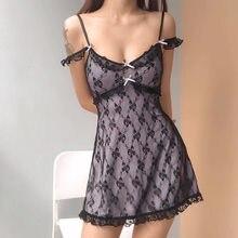 Traf Y2k dresses summer 2021 floral dress corset vintage kawaii free shipping lolita Korean fashion prom harajuku mall goth lace