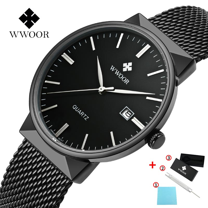 <font><b>Men</b></font> <font><b>Watches</b></font> <font><b>2019</b></font> Top Brand <font><b>Luxury</b></font> Wristwatch Male Bussiness Clock Relogio Masculino <font><b>Ultra</b></font> <font><b>Thin</b></font> Minimalist Quartz <font><b>Watch</b></font> For <font><b>Mens</b></font> image