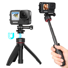 Ulanzi MT-31 Mini tripod Monopod for GoPro 9/8/7/6/5/4 OSMO Action Insta360 Xiaomi Yi SJCAM Eken Action Camera Accessories Mount