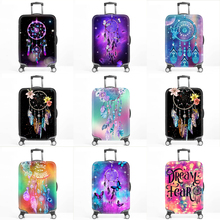 Dreamcatcher Elastic Luggage Cover Luggage Protector Suitcase Protective Covers for Trolley Case Trunk Case Apply to 18-32 inch недорого