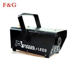 Szybka wysyłka disco kolorowa maszyna do dymu mini LED zdalny wyrzutnik fogger dj Christmas party światło sceniczne maszyna do mgły w Oświetlenie sceniczne od Lampy i oświetlenie na