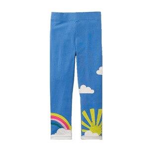 Image 2 - SAILEROAD 3 sztuk legginsy dla dziewczynek zwierząt dziecko jest Legging jesień ubrania dla dzieci legginsy dla ubrania dla dzieci zima 6 lat