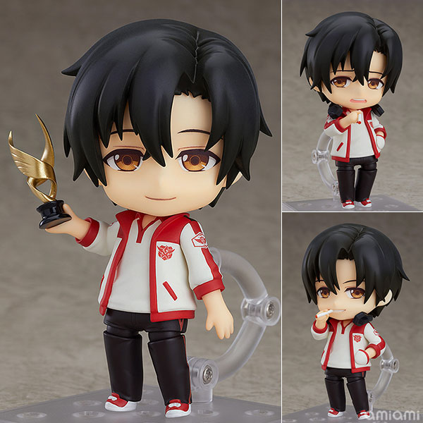 Anime The King's Avatar Ye Xiu Cute 10cm Action Figure Toys