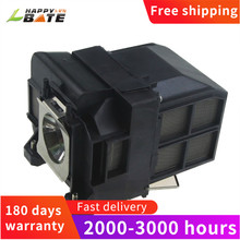 HAPPYBATE ELPLP75 V13H010L75 Projector lamp with housing  for EB 1940W EB 1945W EB 1950 EB 1955 EB 1960 EB 1965