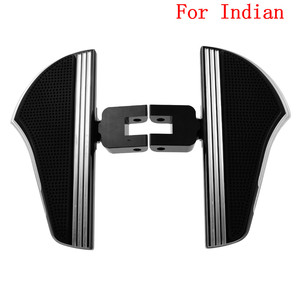 Image 5 - Motorcycle Passenger Floorboard Footrest Footpeg Pedal For Indian For Harley Touring Electra Glide Dyna Street Bob FXDB Fat Bob
