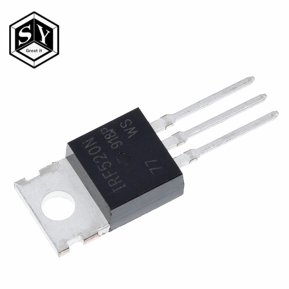 10PCS IRF520 IRF520N TO-220 N-Channel IR Power MOSFET HIGH QUALITY