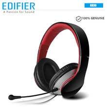 EDIFIER K830 Wired Headphone 3.5mm AUX Connection Communicator Headset with Microphone Educational Earphone