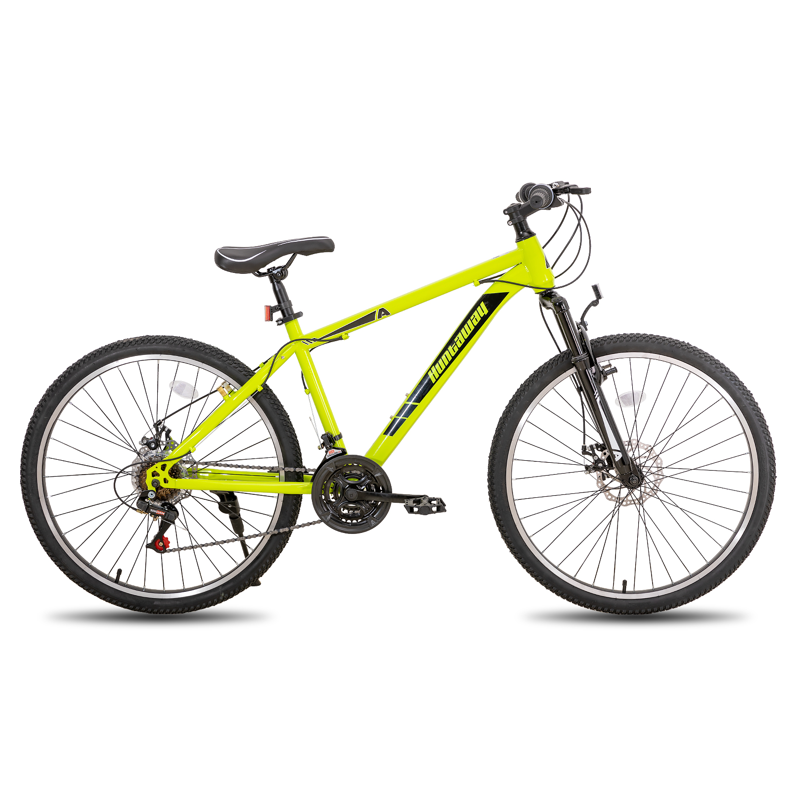 26 дюймов 21 скорость дисковые тормоза и V-тормоза на горном велосипеде городской велосипед горный велосипед с механическими кнопками шины CST